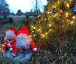 Julehilsen og Julelys i mørket